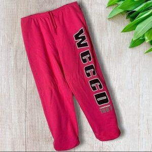 "Jansport Pink Sweatpants ""WCCCD 1967"""